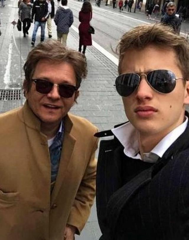 Dragan Bjelogrlić i sin Aleksej