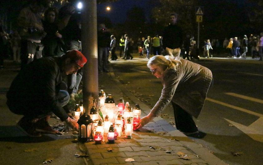 Śmiertelny wypadek na warszawskich Bialanach
