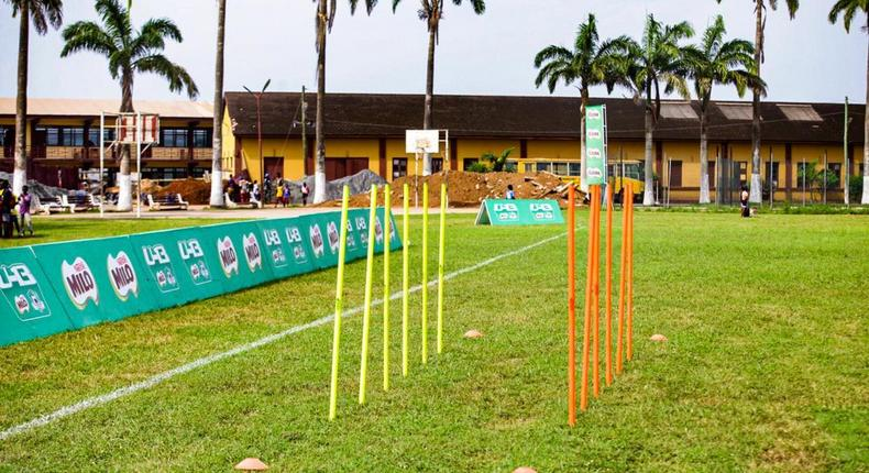 All set for Zone 3 as Augustine Arhinful leads soccer clinic