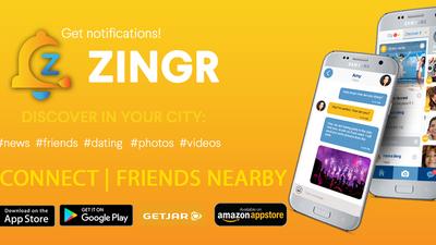 ZINGR - not dating app to make new friends online