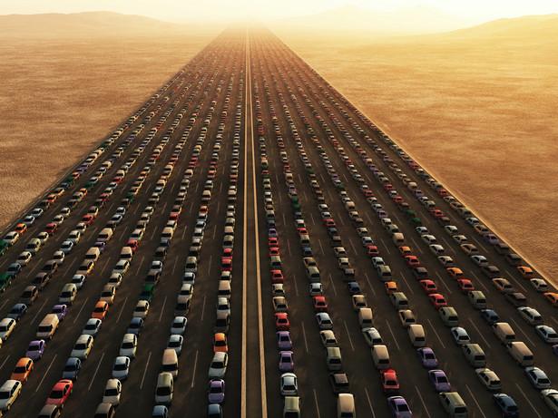 15 proc. tras odpowiada za 40 proc. ruchu na drogach