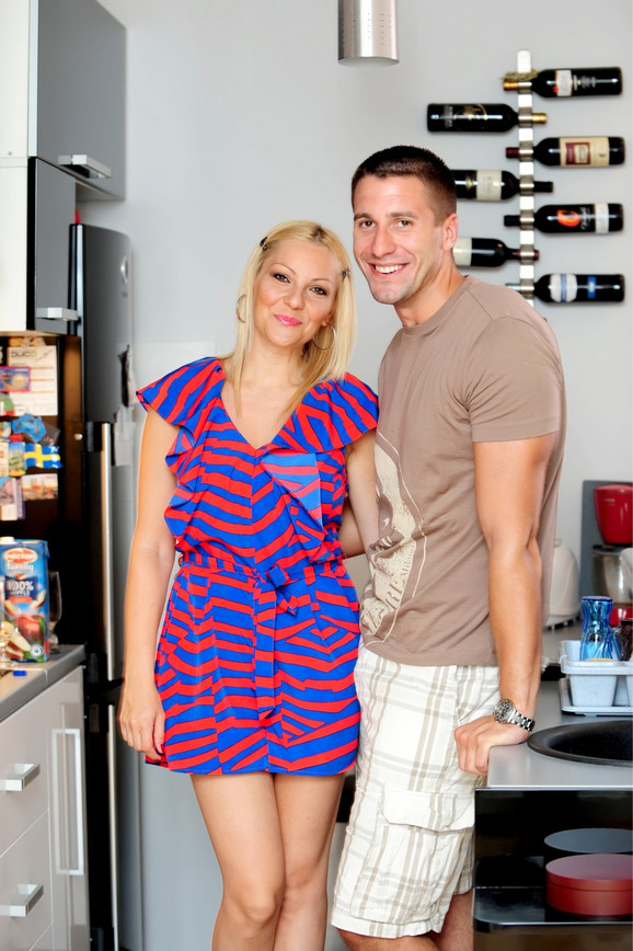 Srećan par: Ivana i Peđa