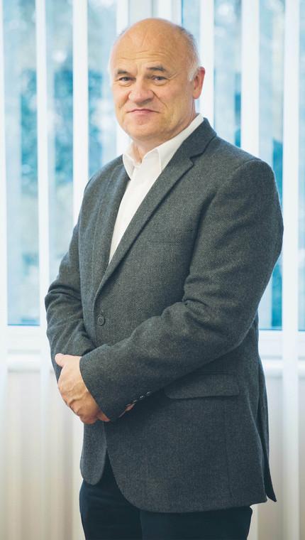 Marek Moczulski, prezes firmy Unitop, producenta chałwy i sezamków, były szef Bakallandu, fot. Wojtek Górski