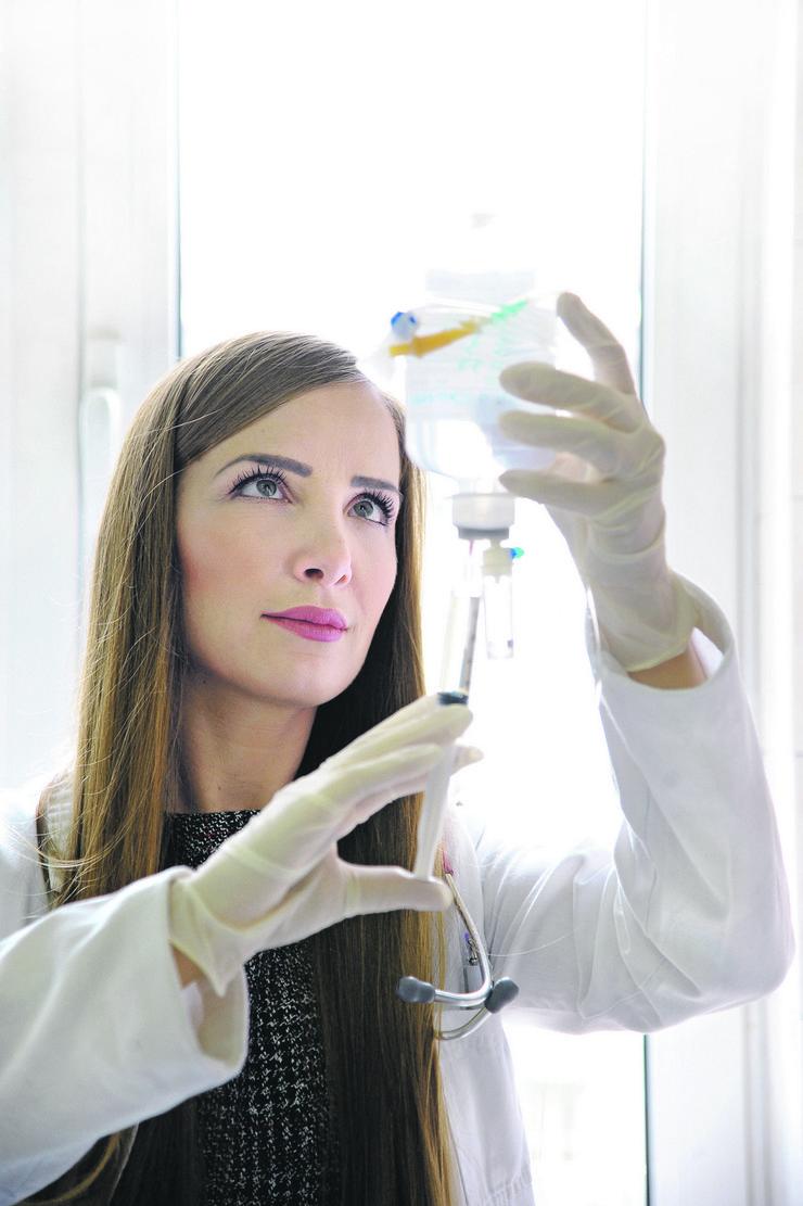 Aleksandra Barać, najbolji mladi infektolog na svetu infektivna klinika_251218_RAS foto Milan Ilic10