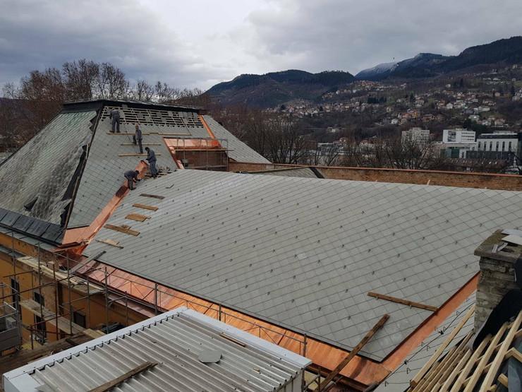 Zgrada krov Predsednistvo BiH