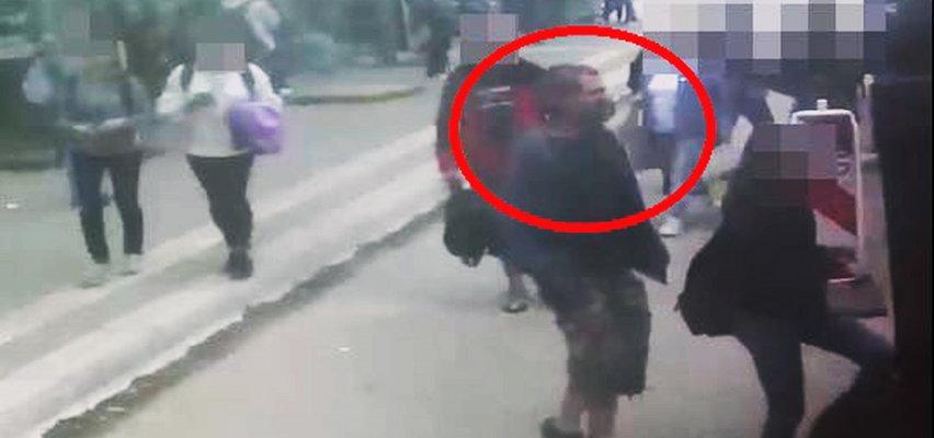 Uwaga! Policja poszukuje autobusowego ocieracza. Poznajesz go?