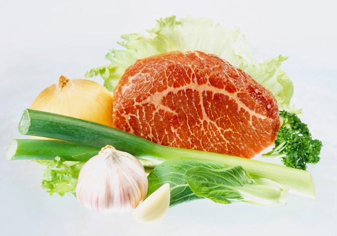 Meso i povrće su uvek dobra kombinacija