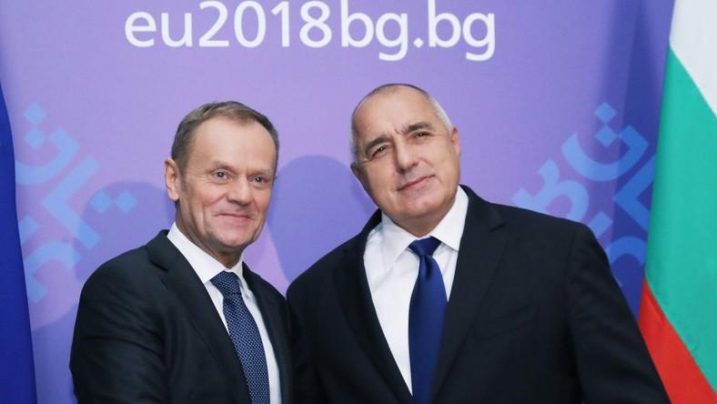 Donald Tusk i Bojko Borisow