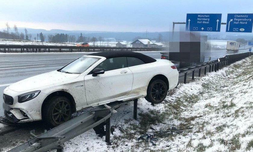 Jerome Boateng miał wypadek na autostradzie