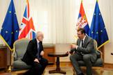 Kif i Vučić danas tokom sastanka u zgradi Vlade Srbije