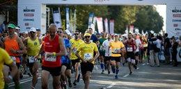 Biegacze na ulicach Warszawy