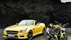 Mercedes zainspirowany motocyklem Ducati