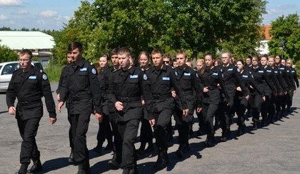 Szkolenia przyszłych policjantów