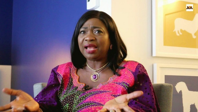 Abike Dabiri-Erewa tells the minister to stop disrespecting women after he described her claim as a fat lie. (News Express)