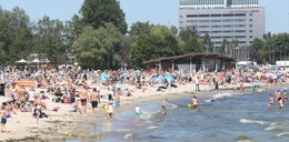 Zakaz kąpieli na plażach! Chodzi o bezpieczeństwo mieszkańców!