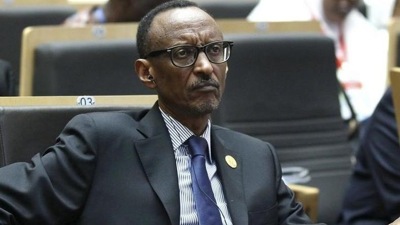 Rwanda's President Paul Kagame attends the opening ceremony of the 24th Ordinary session of the Assembly of Heads of State and Government of the African Union (AU) at the African Union headquarters in Ethiopia's capital Addis Ababa, January 30, 2015. REUTERS/Tiksa Negeri/Files
