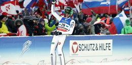 Słoweniec Peter Prevc mistrzem świata w lotach