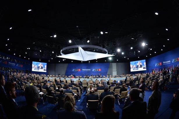Pierwsza Sesja Rady Północnoatlantyckiej w trakcie szczytu NATO na Stadionie PGE Narodowym