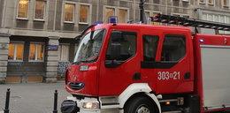 Koparka uszkodziła rurę gazową na Mokotowie
