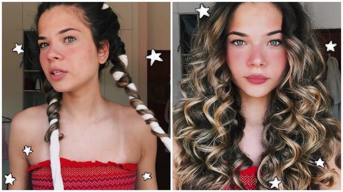 Blogerka pokazala kako da uvijemo kosu bez figara