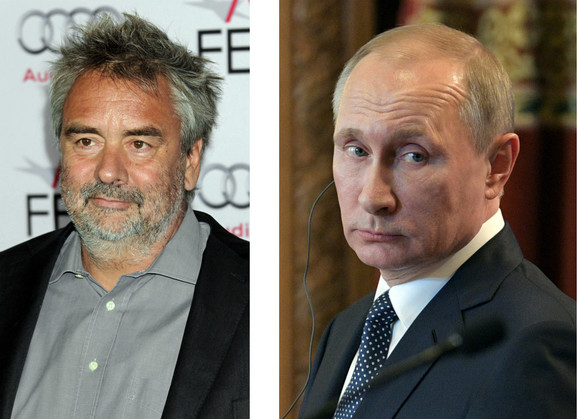 Lik Beson i Vladimir Putin