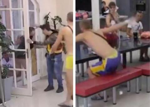 TRUDNICA SVE VIŠE NASILNA: Miljana sinoć umalo povredila Nadeždu, danas napala zadrugara! (VIDEO)