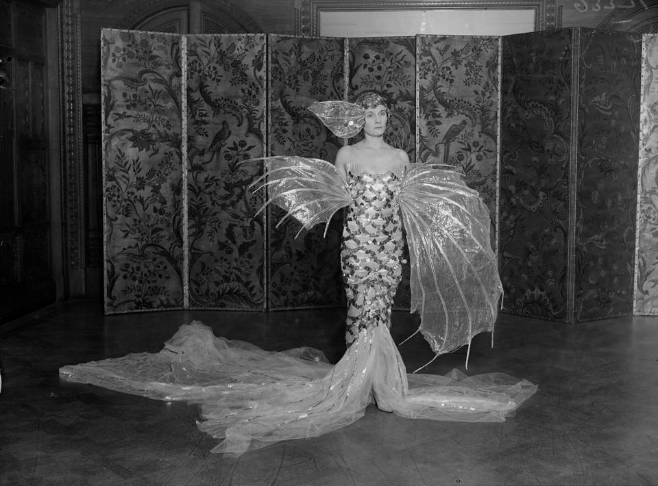 Doris Castlerosse (Delevingne) podczas balu w 1929 r.