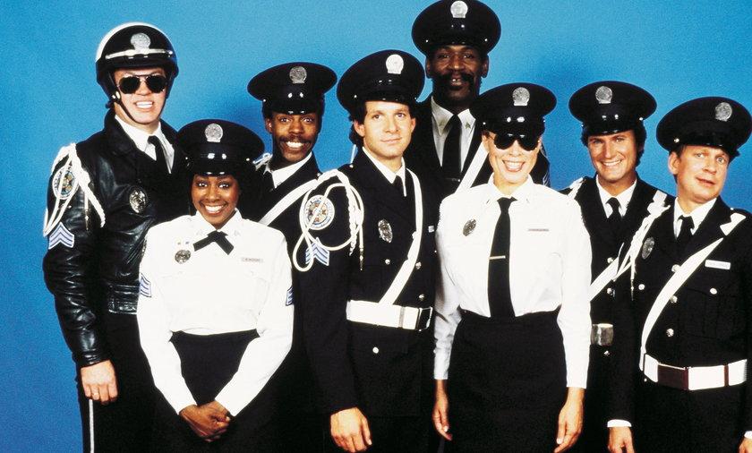 POLICE ACADEMY 3: BACK IN TRAINING (1986) - STEVE GUTTENBERG - BUBBA SMITH - ART METRANO - DAVID GRA
