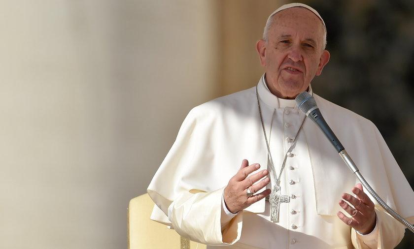 Franciszek o skandalu w Watykanie