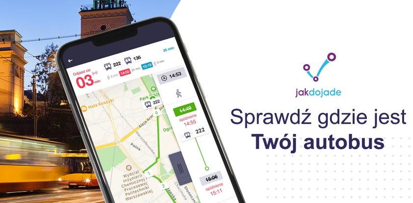 Real-time w Jakdojade – nowa funkcjonalność już dostępna