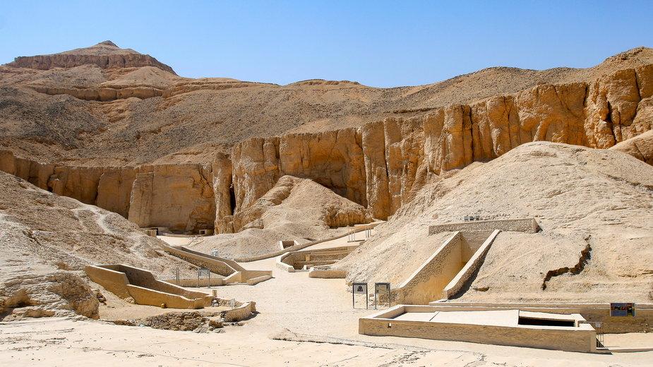Dolina Królów w Luksorze
