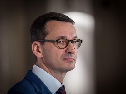 Mateusz Morawiecki (na zdjęciu) z prezesem NBP złożyli wniosek o zamknięcie Elastycznej Linii Kredytowej w MFW