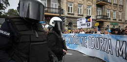 Gorąco na Marszu Równości w Lublinie. Na ulicach mnóstwo policji