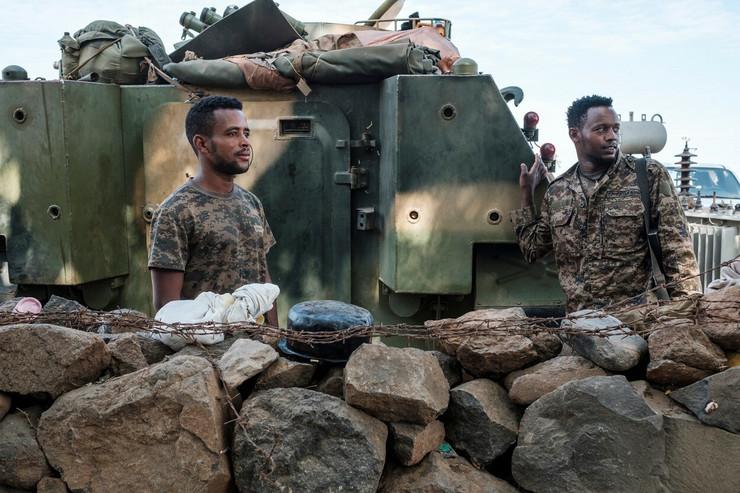 Etiopijska vojska u Danši