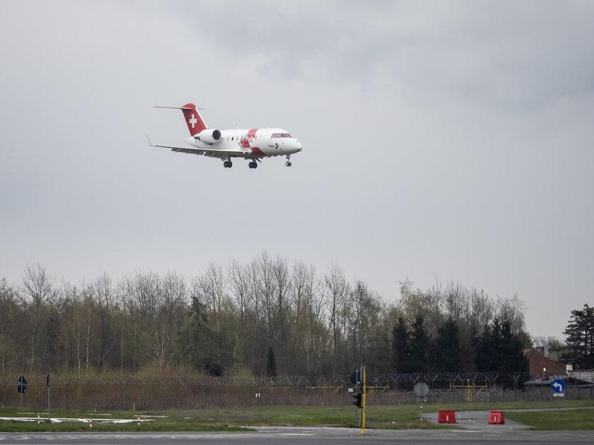 Swiss Air Rescue nad Łodzią