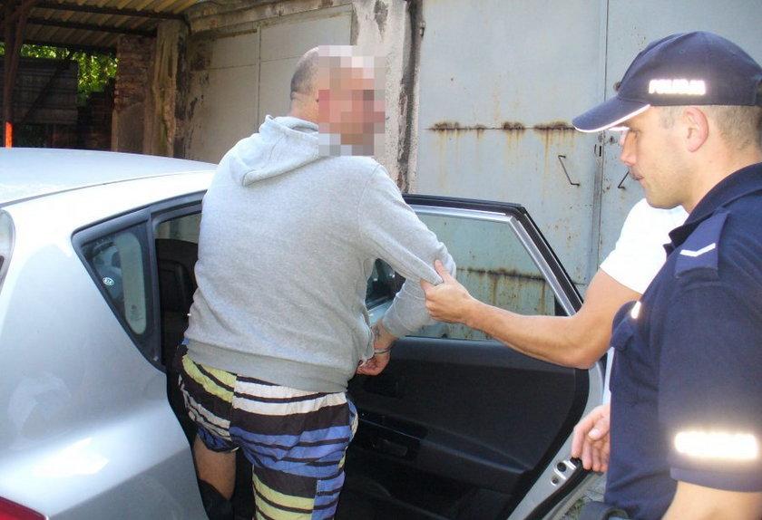 Policja zatrzymała mieszkańca Bytomia