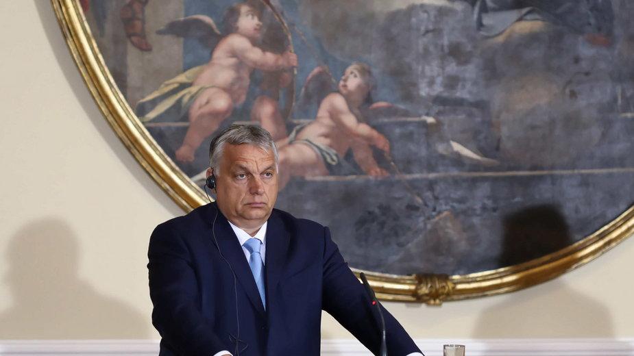 Viktor Orbán po spotkaniu Grupy Wyszehradzkiej w Lublanie