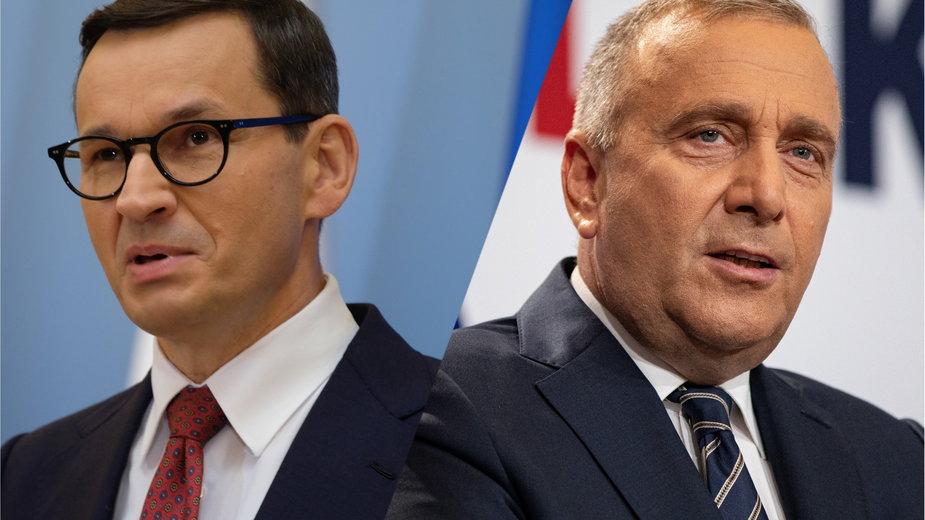 Mateusz Morawiecki, Grzegorz Schetyna