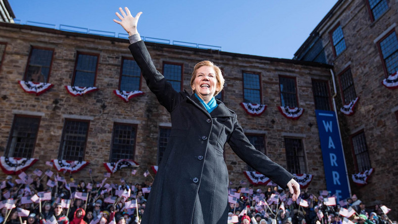 Elizabeth warren 2020 presidential campaign launch