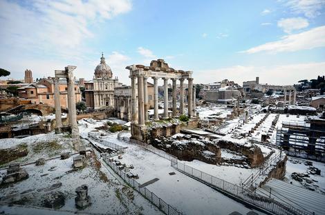 Rim pod snegom