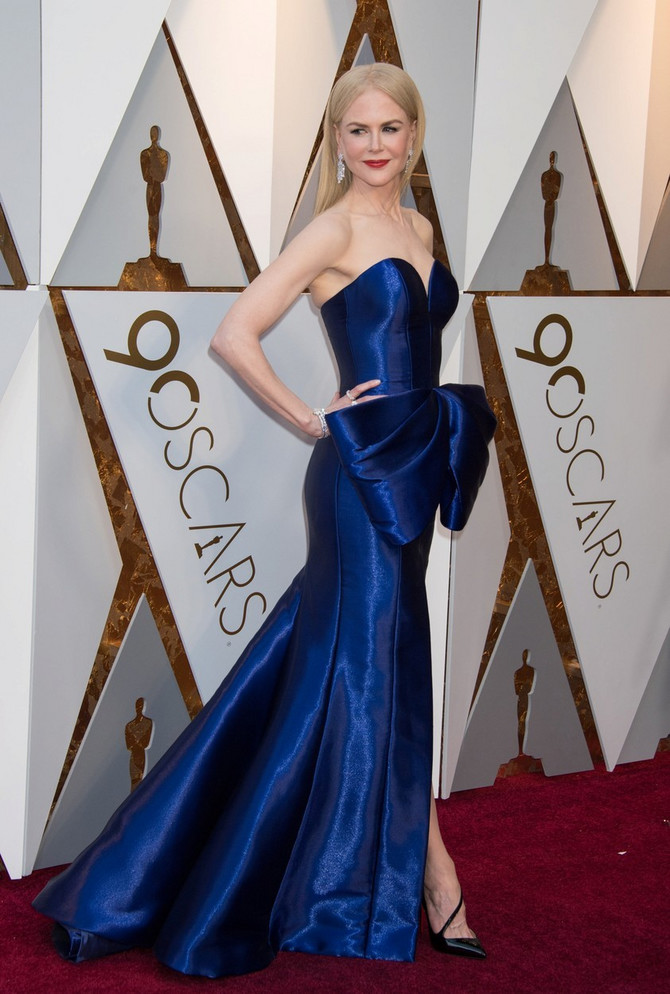 Nikol Kidman na dodeli Oskara 2018 godine