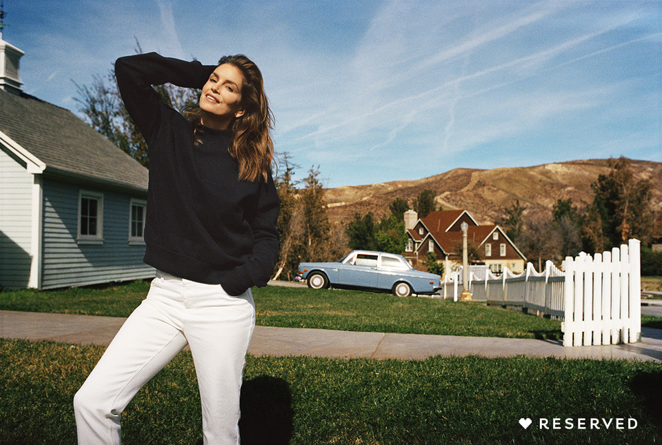 Cindy Crawford dla Reserved