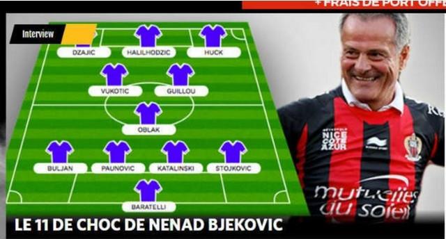 Idealni tim Nenada Bjekovića