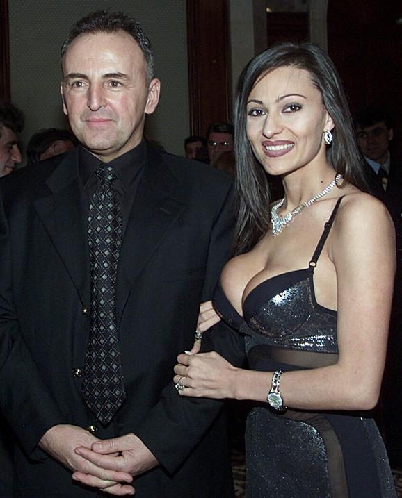 Željko Ražnatović Arkan i Svetlana Ražnatović, devojačko Veličković