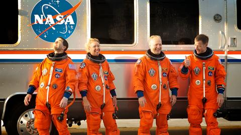 Zarobki astronautów zależą m.in. od osiągnięć i doświadczenia