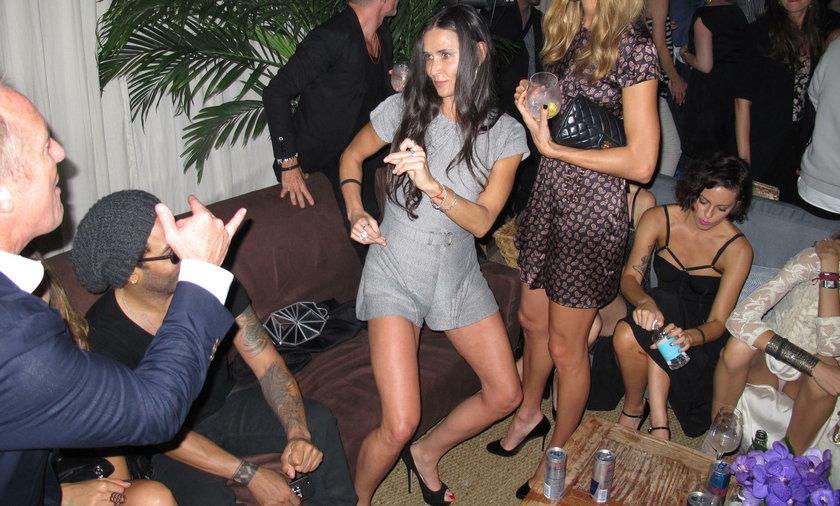 Demi Moore na imprezie w 2012 r.