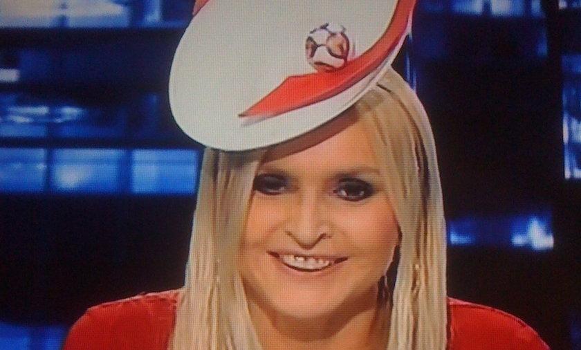 Monika Olejnik kapelusz