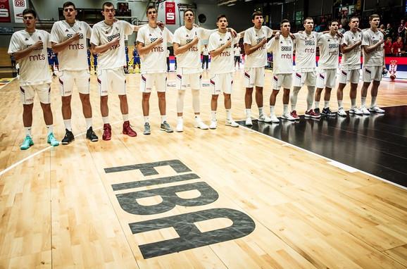 Mlada košarkaška reprezentacija Srbije završila je U20 Mundobasket na desetom mestu