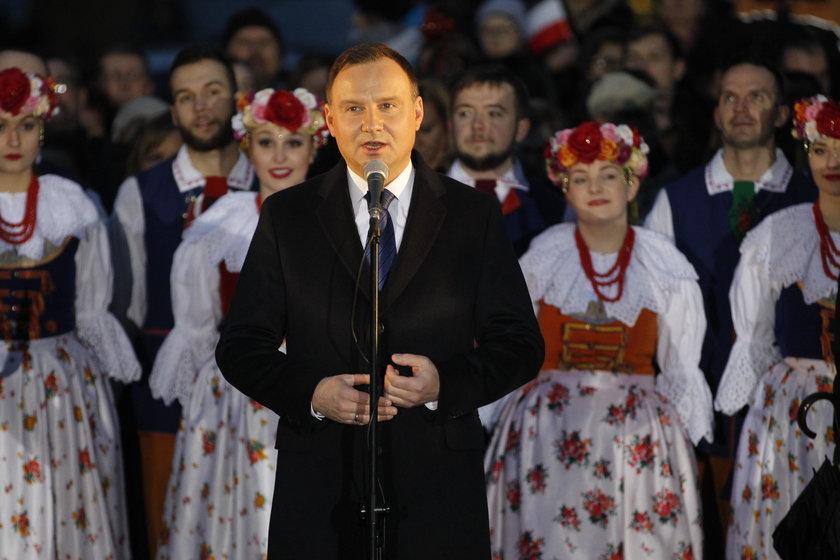 Andrzej Duda odwiedził Siemianowice Śląskie