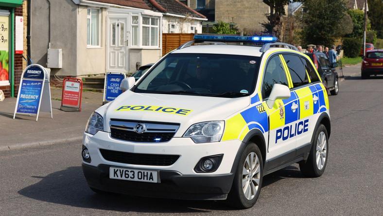 Angielska policja